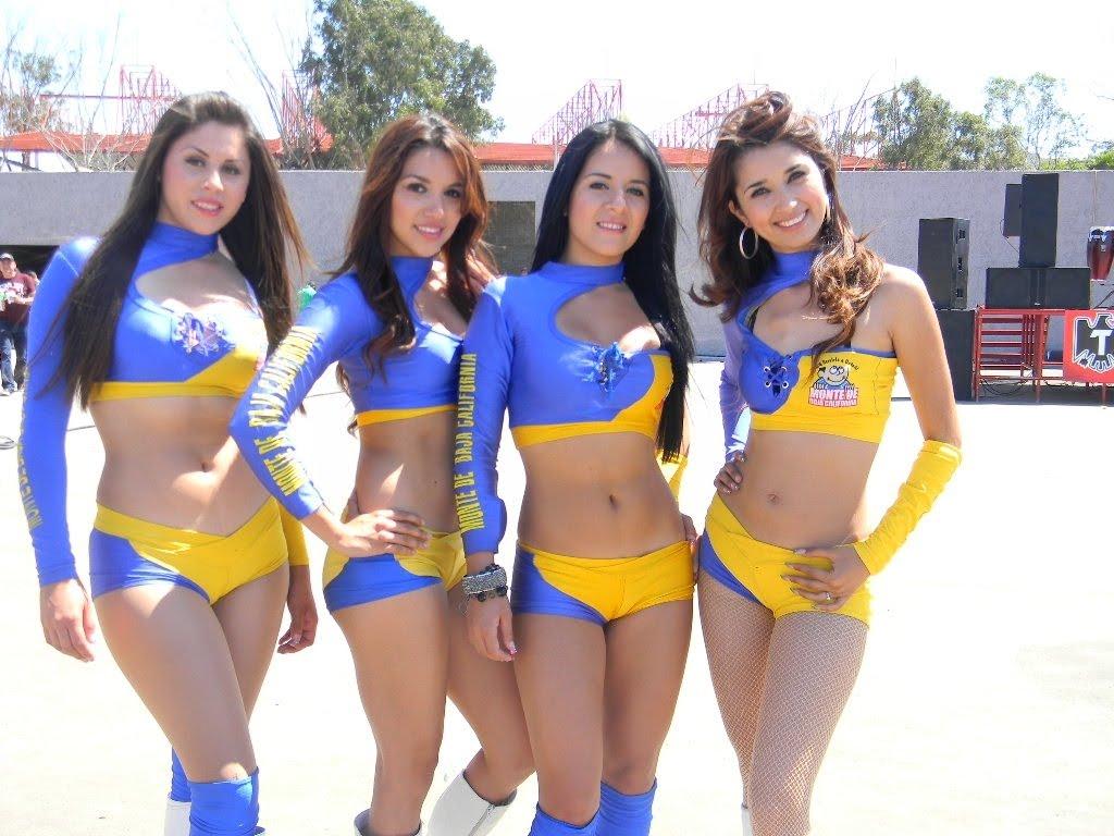 76 porristas del futbol mexicano 2 - 4 9